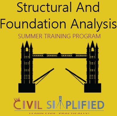 Summer Training Program on Structural and Foundation Analysis Civil Engineering at Skyfi Labs Center  Workshop