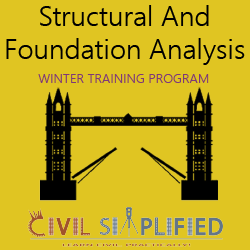 Winter Training Program on Structural and Foundation Analysis  at delhi