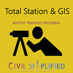 Winter Training Program on Total Station and GIS  at kolkata-baguiati